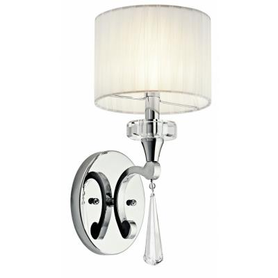 Kichler Lighting 42634CH Parker Point - One Light Wall Sconce