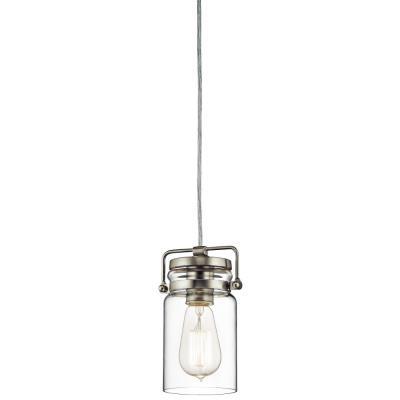 Kichler Lighting 42878NI Brinley - One Light Mini-Pendant