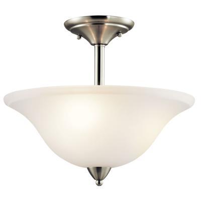 Kichler Lighting 42879NI Nicholson - Three Light Semi-Flush Mount
