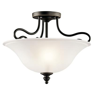 Kichler Lighting 42900OZ Tanglewood - Two Light Semi-Flush Mount
