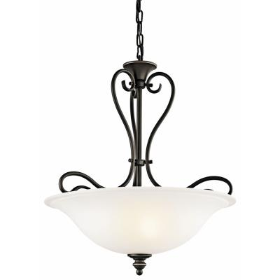 Kichler Lighting 42903OZ Tanglewood - Three Light Inverted Pendant
