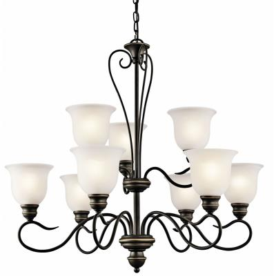 Kichler Lighting 42907OZ Tanglewood - Nine Light Chandelier