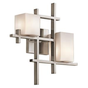 City - Two Light Wall Sconce