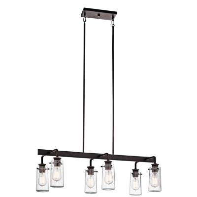 Kichler Lighting 43059OZ Braelyn - Six Light Linear Chandelier