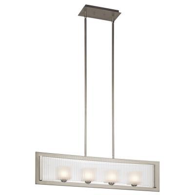 Kichler Lighting 43142NI Rigate - Four Light Linear Chandelier