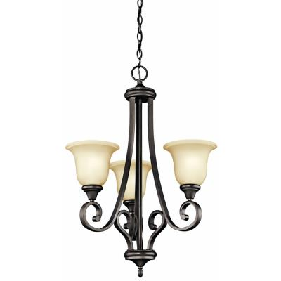 Kichler Lighting 43155OZ Monroe - Three Light Chandelier