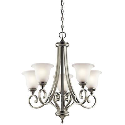 Kichler Lighting 43156NI Monroe - Five Light Chandelier