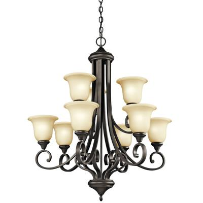 Kichler Lighting 43159OZ Monroe - Nine Light Chandelier