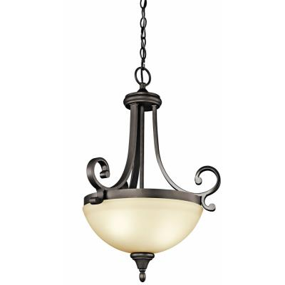 Kichler Lighting 43163OZ Monroe - Two Light Inverted Pendant
