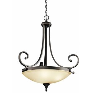 Monroe - Three Light Inverted Pendant