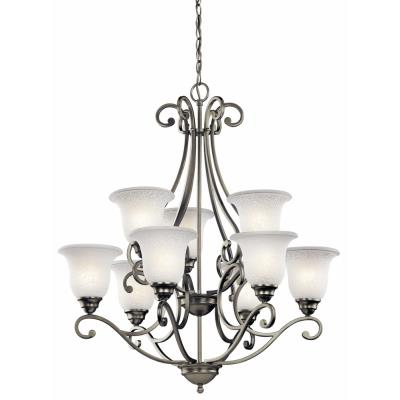 Kichler Lighting 43226NI Camerena - Nine Light Chandelier
