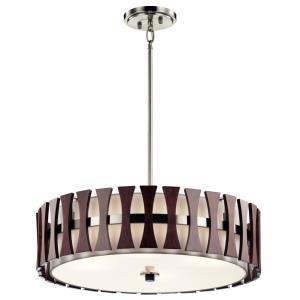 Cirus - Four Light Convertible Pendant/Semi-Flush Mount