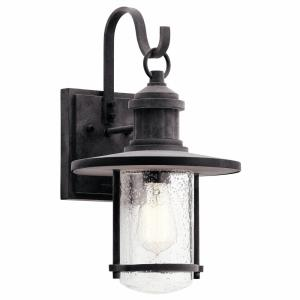 Riverwood - One Light Large Outdoor Wall Sconce