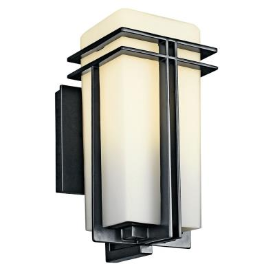 Kichler Lighting 49200BK Tremillo - One Light Outdoor Wall Mount