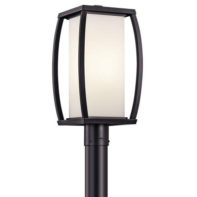 Kichler Lighting 49342AZ Bowen - One Light Outdoor Post Mount
