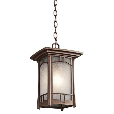 Kichler Lighting 49452AGZ Soria - One Light Outdoor Hanging Lantern