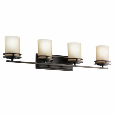 Kichler Lighting 5079OZ Hendrik - Four Light Bath Fixture