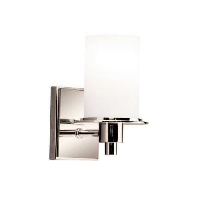 Kichler Lighting 5436PN Cylinders - One Light Wall Sconce