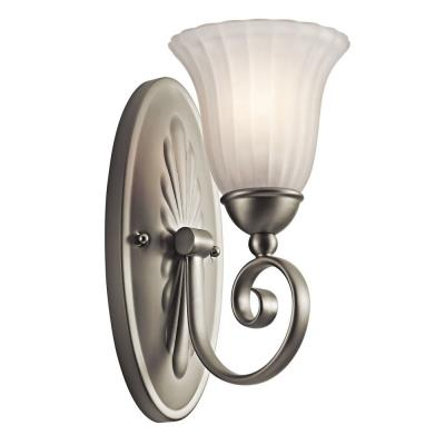 Kichler Lighting 5926NI Willow More - One Light Wall Sconce