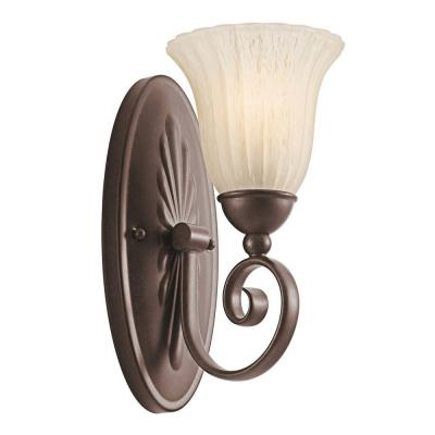 Kichler Lighting 5926TZ Willow More - One Light Wall Sconce