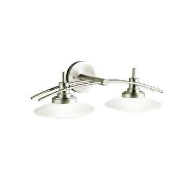 Kichler Lighting 6162NI Two Light Bath Fixture