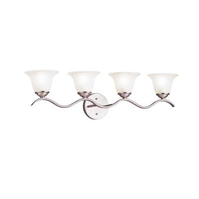 Kichler Lighting 6324NI Dover - Four Light Bath Strip