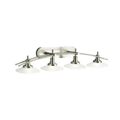 Kichler Lighting 6464NI Four Light Bath Bar