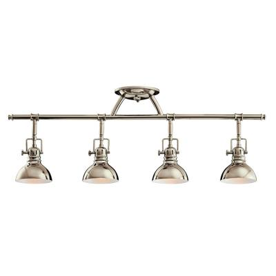 Kichler Lighting 7704PN Four Light Fixed Rail