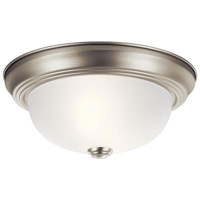 Kichler Lighting 8111NI Two Light Flush Mount