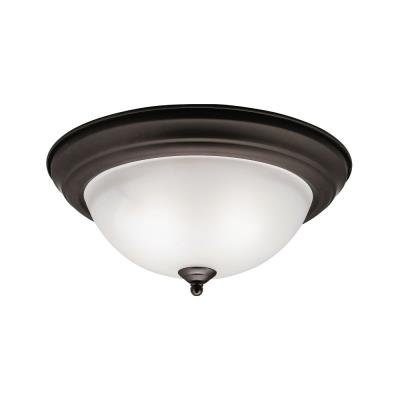 Kichler Lighting 8112OZ Two Light Flush Mount
