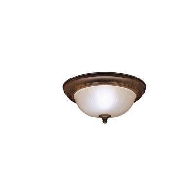 Kichler Lighting 8653TZ One Light Flush Mount