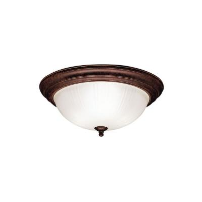 Kichler Lighting 8655TZ Three Light Flush Mount