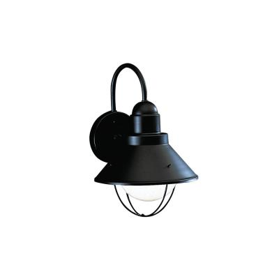 Kichler Lighting 9022BK One Light Outdoor Wall Mount