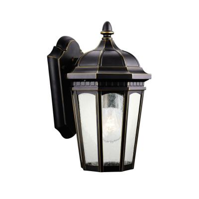 Kichler Lighting 9032RZ Courtyard - One Light Outdoor Wall Mount
