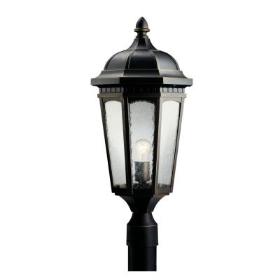 Kichler Lighting 9532RZ Courtyard - One Light Outdoor Post Mount