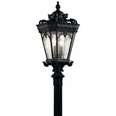 Kichler Lighting 9559BKT Tournai - Four Light Post