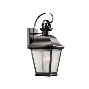Mount Vernon - One Light Outdoor Wall Bracket