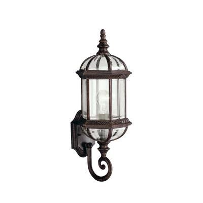 Kichler Lighting 9736TZ New Street - One Light Outdoor Wall Bracket