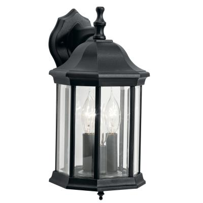 Kichler Lighting 9777BK Chesapeake - Three Light Outdoor Wall Mount