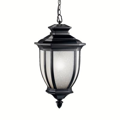 Kichler Lighting 9843BK Salisbury - One Light Outdoor Pendant