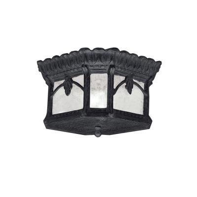 Kichler Lighting 9854BKT Tournai - Two Light Outdoor Flush Mount