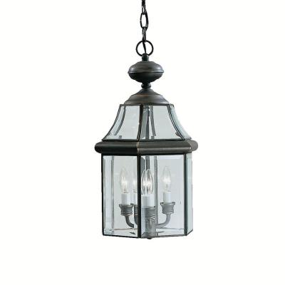 Kichler Lighting 9885OZ Embassy Row - Three Light Outdoor Pendant