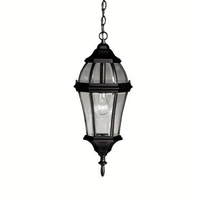 Kichler Lighting 9892BK Townhouse - One Light Outdoor Pendant