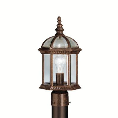 Kichler Lighting 9935TZ New Street - One Light Outdoor Post Mount
