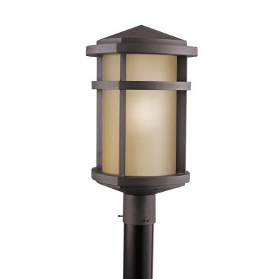 Kichler Lighting 9967AZ Lantana - One Light Outdoor Post Mount