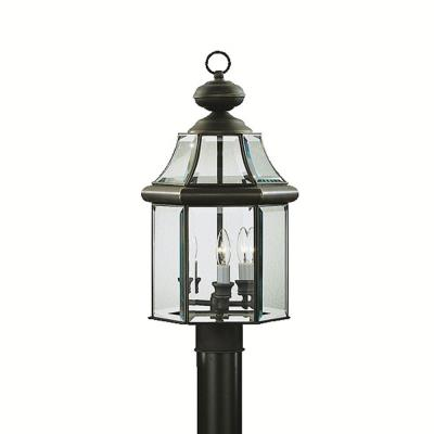 Kichler Lighting 9985OZ Embassy Row - Three Light Post Mount