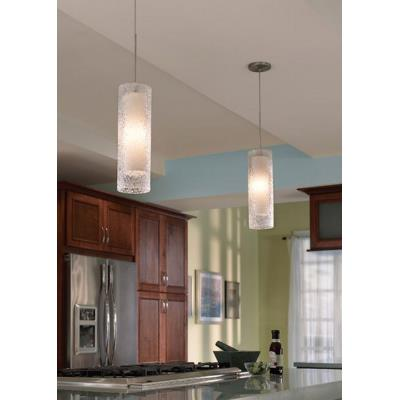LBL Lighting 553 Rock Candy - One Light Cylindrical Line-Voltage Pendant