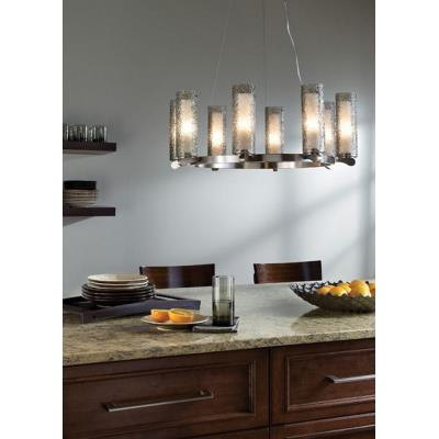 LBL Lighting SU6238-120 Rock Candy - Eight Light Chandelier