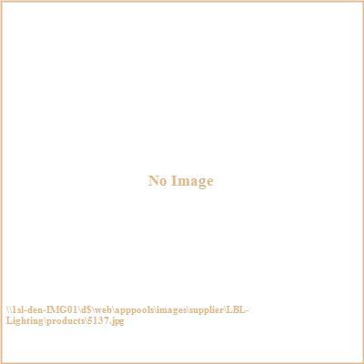 LBL Lighting 5137 Oval Aluminum Bulk Head with Visor