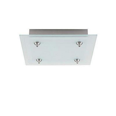 LBL Lighting CK004S-FJ Accessory - Fusion Jack 4-Port Square LED Canopy